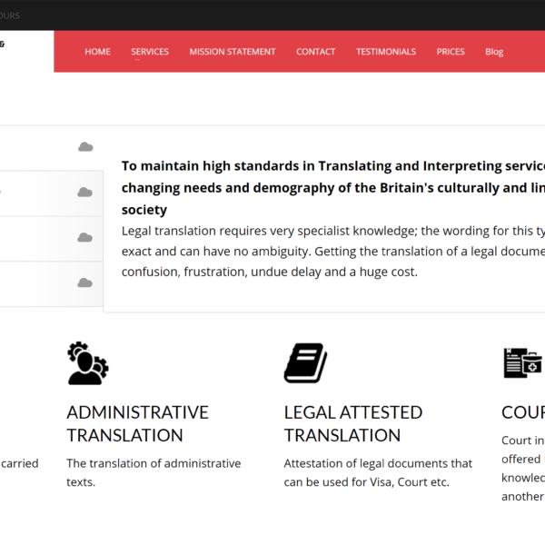 Legal Services Client